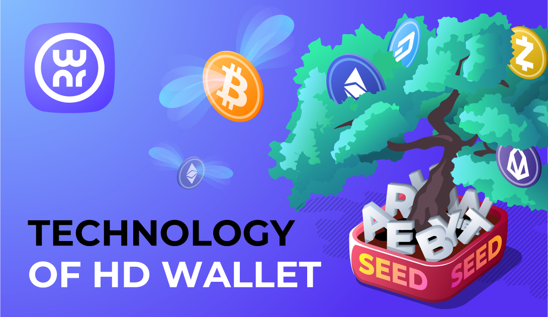 Technology og HD wallet