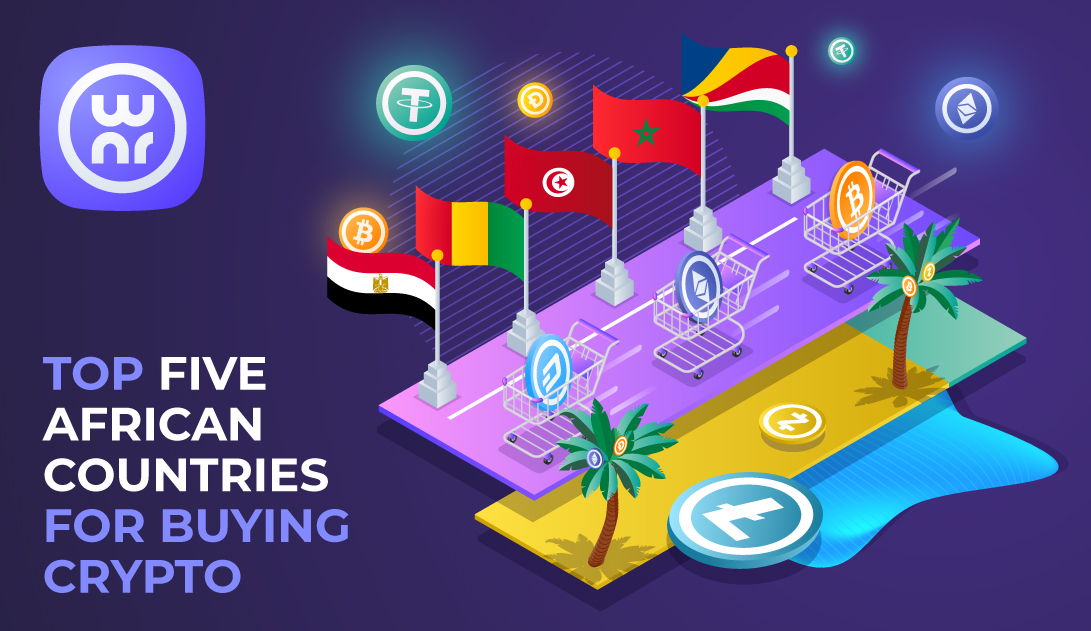 TOP 5 emerging African countries for buying crypto