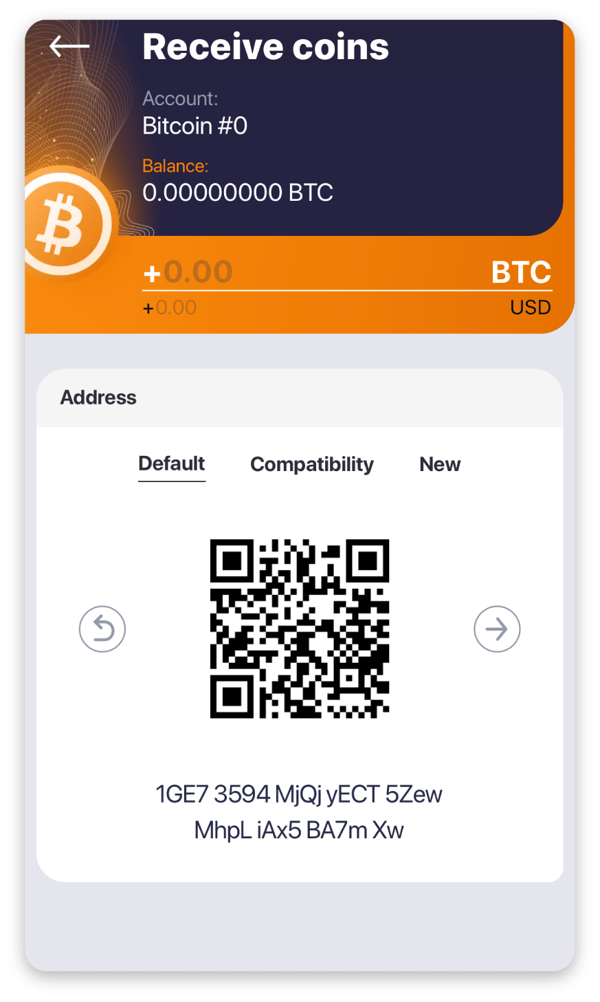 How can I receive funds to my wallet?